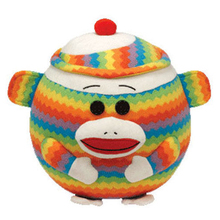 "Pyoopeo Ty Beanie Ballz 8"" 20m Sock monkey Plush Stuffed Animal Medium Collectible Soft Big Eyes Doll Toy(China)"
