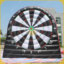 Giant 5.4m PVC Inflatable Foot Darts for Sale, Soccer Darts, Football Darts Game,Big Balls and Air Blower Included