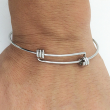 Fashion  Newest  Handmade  stainless steel bangle   good quality  Aa252
