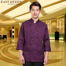 Food service chef uniform jacket restaurant uniforms hotel kitchen chef clothing cooks clothing uniform    AA741