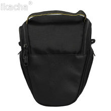 Hot Camera DSLR Case Bag Cover Shoulder Bags + Shoulder Strap For Nikon D7000 D7100 D3100 D3200 D3300 D3000 D5000 D5100 D5200