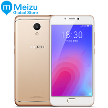 Original Meizu M6 4G LTE Smartphone 2GB 16GB 5.2 Inch MTK6750 Octa Core 13MP 3070mAh Battery Fingerprint(China)