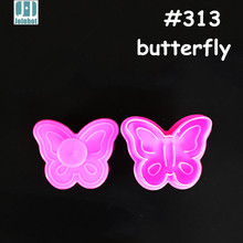 Butterfly Cookie Cutter Mold Plastic Biscuit Stamp Mould Decorating Tools For Cakes DIY