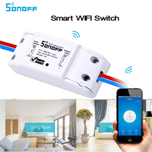 2017 Itead Sonoff Smart Home Wireless Remote Control Wifi Switch Intelligent Timer /DIY Switch 220V Control Via Android IOS