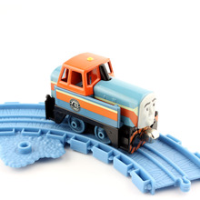 Children's mini Den Thomas and friends trains the tank metal magnetic trains die cast models enfants baby toys gifts for kids