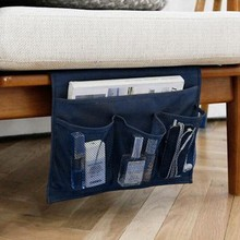 Creative Home Sofa Cabient BedSide Pocket Hanging Storage Bags Phone Remote Control Magazine Collapsible Storage Boxs Organizer(China)