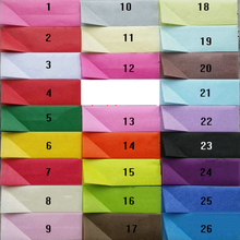 50sheets/lot 50x70cm Color Copy Tissue Wrapping Paper Gift Paper Wine Cloth Shoe Packing Protection DIY POM POM Flower Material(China)