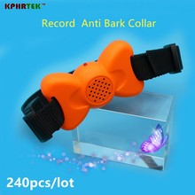 2017  Sep New Anit Bark collar  Bark Stopper with Customized Audio Commands No Bark Collar KP802  240pcs/lot