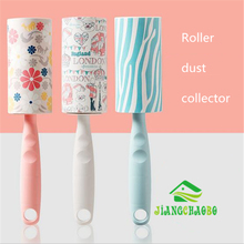 JiangChaoBo Color Stickers Sticky Cloth Bright And Colorful Energy Dust Sticky Brush Roller Dust Collector Dust Brush(China)