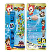 2017 new,hello kitty pig Yokai watch Wrist Watch action figures,Yo-Kai Watch 3D projection watch toy for children gift,XW082