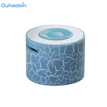 Ouhaobin Wireless Bluetooth Speaker Plastic Mini Portable Subwoof Sound With Mic Support TF Card FM Radio AUX For iPhone/Samsung