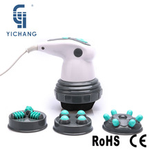 YICHANG New Design Electric Noiseless Vibration Full Body Massager Slimming Kneading Massage Roller for Waist Losing Weight(China)