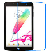 9H Tempered Glass Screen Protector Film for LG G Pad F 8.0 V495 + Alcohol Cloth + Dust Absorber(China)