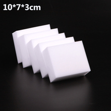 10x7x3cm 50 pcs/lot high quality  Magic Sponge Eraser Melamine sponge Cleaner for Kitchen Office Bathroom Cleaning