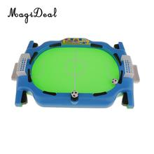 MagiDeal High Quality KidsToy Mini Table Top Football Game Fun Set Desktop Lightweight Portable Board Game Accessory Boys Gift