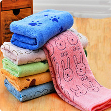 Pet Water Towel Cartoon Printing Quickly Dry Wrapped Towel Aug8 Professional Factory price Drop Shipping(China)
