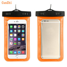 cunzhi Soft PVC 100% Sealed Waterproof Pouch For Blackberry 9900 / 9930 / 9800 / 9790 / 9700 Case Can Touch Underwater Bag(China)