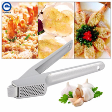Aluminum Alloy Ginger Garlic Chopper Multi Stainless Steel Crusher Garlic Presses Convenient Split Kitchen Fruit Vegetable Tool(China)