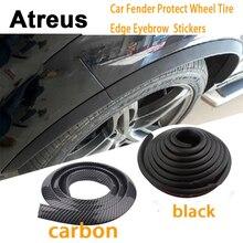Atreus 150cm BMW e46 e39 e36 Audi a4 b6 a3 a6 c5 Renault duster Lada Car Fender Protect Wheel Tire Eyebrow Carbon Stickers