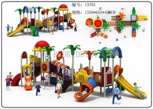Exported to Latvia EN1176 Amusement Park Equipment Kids Playground Equipment HZ-13701
