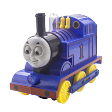 Electric Thomas Train Toys With Light And Music Movable Eye Mouth Brinquedos Thomas And Friends Car Toys For Children(China)