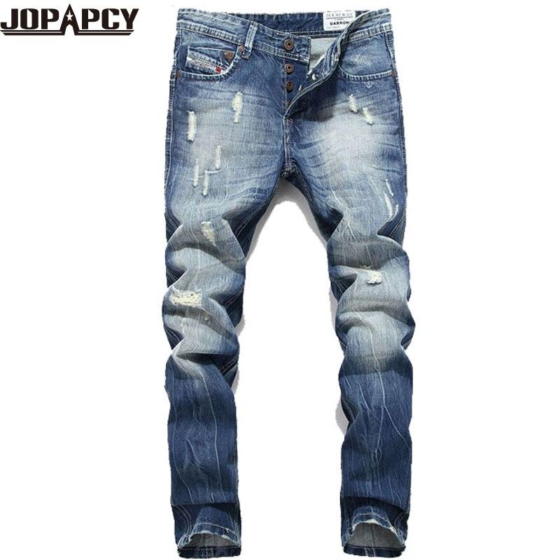 HOT Fashion Jeans Men Ripped Distressed Destroyed Hip Hop Rock Mens Pants Casual Pantalones vaqueros Hombre Marce MYA0382Одежда и ак�е��уары<br><br><br>Aliexpress