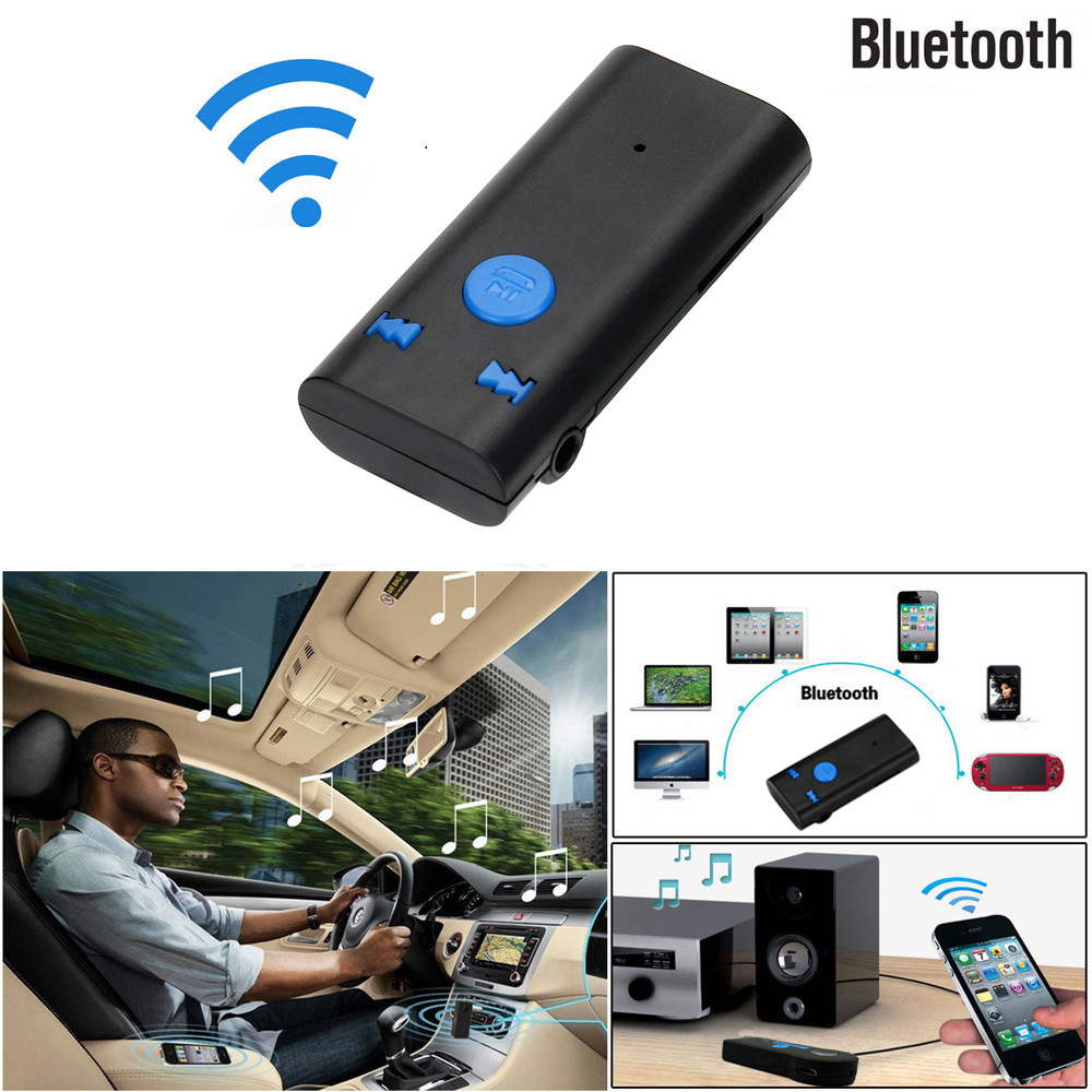 Ugreen Wireless Bluetooth 3.5mm Car Aux Audio Stereo Music Receiver Adapter+Mic