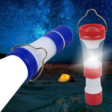 Portable Flashlight Outdoor Camping Lantern lampe led ongles High Power Brightest 3*AAA Flash Light