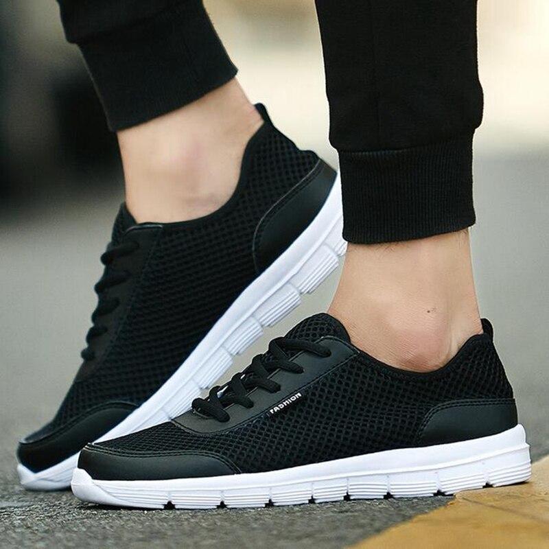 Big Size 38-46 Men Shoes Brand Summer Flats Men Casual Shoes Fashion zapatillas deportivas Hombre, low top Men Zapatos Man Shoes<br><br>Aliexpress