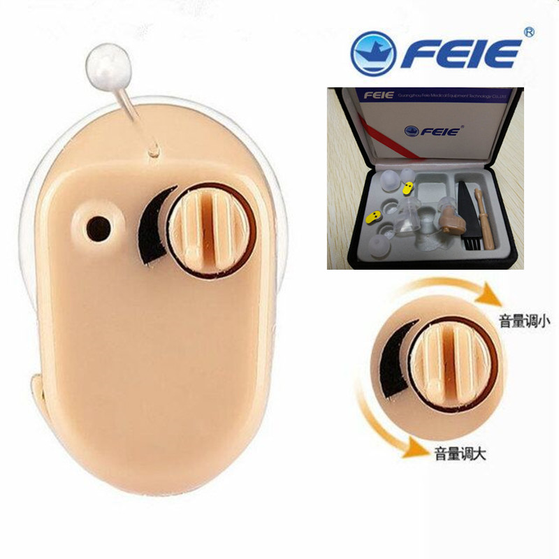 Mini Portable Heahphone Hearing Aid Ear Aide S-900A Mini Invisible Sound Amplifier for deafness  free shipping <br>
