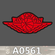 Bevle A0561 Air Jordan Tide Brand Car Styling Waterproof Sticker for Cars Laptop Luggage Skateboard Graffiti Notebook Stickers