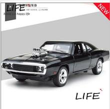 2016 Meritor figure 1 24 Dodge Dodge challenger muscle car simulation model alloy car fast and the furious 7(China)