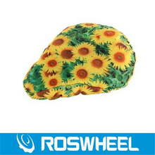 Super Sale! New Roswheel Cycling Bike Saddle Sun prints Comfortable Cushion Soft Pad Bicycle Seat Cover
