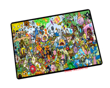 Adventure Time mouse pad  Whole family game pad to mouse notebook computer mouse mat brand gaming mousepad gamer laptop