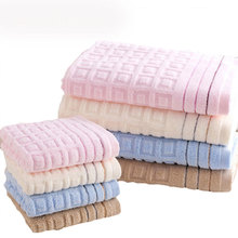 Fudiya 100% Cotton Bath Towels 70*140cm Home Cotton Soft Bathing Towel Bathroom Cotton Style Free Shipping HH540