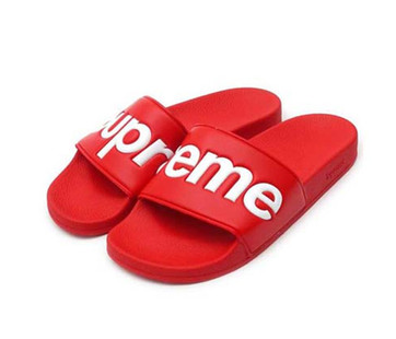 Free shipping guitar strings supreme slippers strings Man slippers Sport Knee pads with retailbox<br><br>Aliexpress