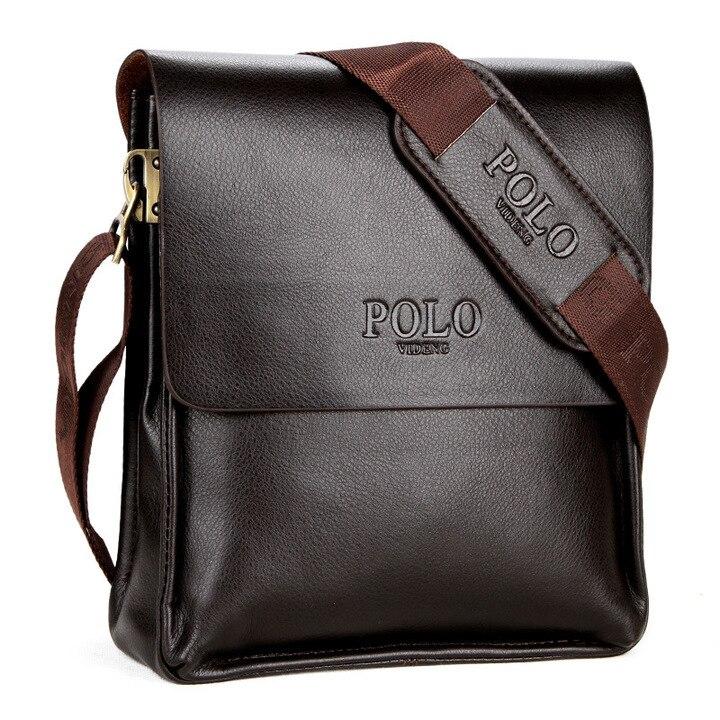 2017 new POLO Famous genuine leather men bag fashion Business Leather Mens Messenger Bag Man Bags Shoulder Bag briefcase zs643<br><br>Aliexpress