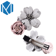 M MISM 1 PC Sweet Flower Shape Decoration Hairpin For Women Children Cute Beach Hair Accessories Girl's Elegant Hairgrip(China)