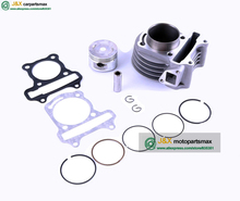 GY6 50 UP GY6 80 Moped ATV 139QMB engine 4T 47mm cylinder kit incl piston set rings gasket SCOOTER PARTS JONWAY Roketa Moped(China)