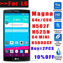 Buy MLLSE 9H Tempered Glass LG Magna G4C C90 H5000CF H502F H525N Screen Protector lg magna Ultra-thin glass film G4 MINI for $0.90 in AliExpress store