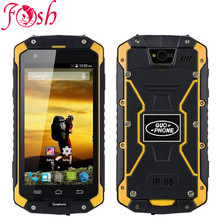 "Original guophone V9 IP68 Rugged Waterproof cell Phone MTK6572 Android 4.4 4.5""IPS 512MB+4GB WCDMA 3G mobile Phone discovery(China)"