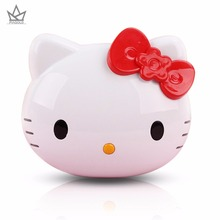 PIAGOLD Cute hello kitty Portable Power Bank 8000mAh Universal 18650 Battery Charger Birthday Gift For Mobile Phones For iphone(China)
