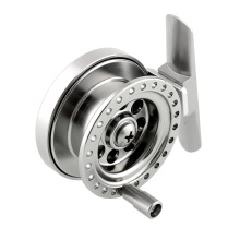 Aluminum Ice Fishing Reel For Super Strong Sea Ice Fly Fishing Line Wheel Skillful  Fishing Accessories