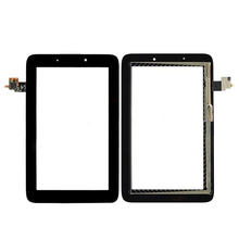 BLACK Touch digitizer Screen Glass Replacement For Lenovo IdeaTab A2107 A2207 free shipping