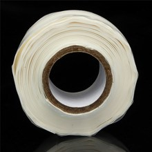 1 Rolls Silicone Rubber Performance Repair Emergency Rescue Tape Adhesive Bonding Tape Width 25mm Lowest Price