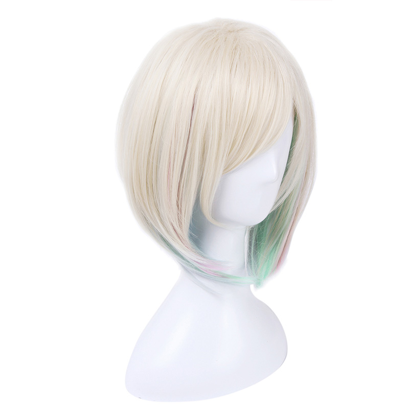 Coshome LOL Lux Cosplay Wigs Costumes Women White Dress Girls Halloween Summer Outfit Uniforms (6)