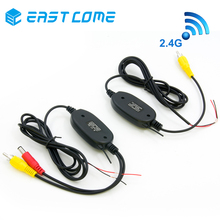 2.4 Ghz Wireless Video Transmitter Receiver Kit For Car Monitor To Connect The Car Rear View Camera Reverse Backup Camera