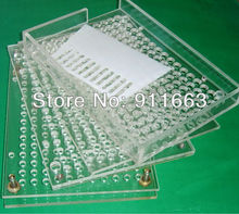 00# capsule used, 209 Holes,Manual Capsule Fillers/manual capsulator/manual capsule filling machine without tamping tool
