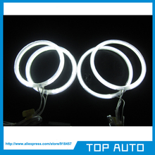 Free Shipping 6000K CCFL Angel Eyes Kit  White Halo Rings Headlight for Opel Vectra 106mm+90mm