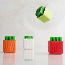Laundry Brush Plastic Clothes Shoes Floor Washing Scrubbing Brush Cleaner Mini(China)